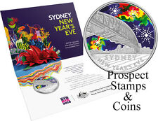 2017 Sydney New Years Eve 1/2oz Silver Uncirculated Australian Coin