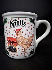 Knotts Berry Farm Chicken Boysenberry 10 oz Ceramic Coffee Two Mug Set Rare