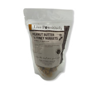 Live Pawsitively Peanut Butter & Honey Limited Ingredient dog treats made in USA