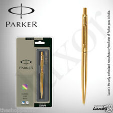 Personalised Engraved Parker Clasic Gold GT Ball Pen - Gold Plated Clip FreeShip