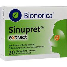 SINUPRET extract überzogene Tabletten   20 st   PZN 9285530
