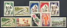 Benin 1963-66 Nuovo ** 100% Sport, Dakar, Scout