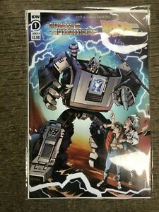 TRANSFORMERS Back to the Future 1 NM 1A Main first 1st print IDW 2020