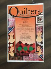 "14"" X 22"" Poster of the musical ""Quilters"""