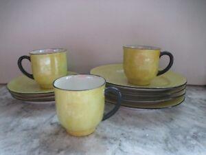 Vintage Bavarian Hand Painted Childs Tea Set