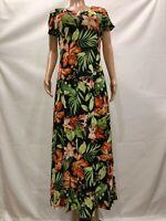 Attitudes by Renee Women's Regular Como Jersey Set of 2 Maxi Dresses Medium Size