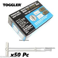 """Toggler SnapToggle BB 1/4"""" Toggle Bolts Heavy Duty Anchors 50 Pc 25014 SKY5057"""