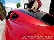CHEVY CORVETTE C6 2005-2013 Z06,ZR1,GS AND BASE REAR WINDOW RAILS (FOR COUPE)