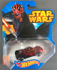 NEU DISNEY STAR WARS HOT WHEELS AUTO DARTH MAUL MODELLAUTO MATTEL LIMITED CAR