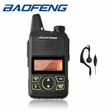 UK Stock 1 x Baofeng MINI T1 Dual Band Handheld  - 2 Way Radio Walkie Talkie