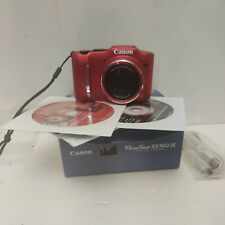 : Canon PowerShot SX160 IS 16.0MP Digital Camera - Red