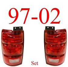 97 02 Expedition Tail Light Set, Complete Assemblies, Ford, New In Box, L&R!!