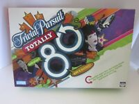 Totally 80's Trivial Pursuit Game Hasbro Parker Brothers Edition 100% complete