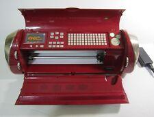 Cricut Cake Personal Electronic Cutter Machine Red CCA001