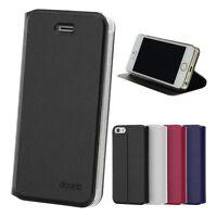Flip Case iPhone 5 5S SE / 4 4S Etui Cover Aufstellbar Ständer Cover Hülle Folie