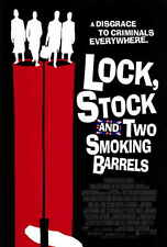 """LOCK STOCK AND TWO SMOKING BARRELS Poster [Licensed-New-USA] 27x40"""" Theater Size"""