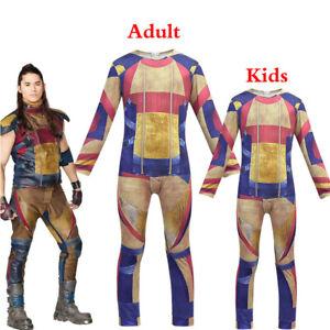 Descendants 3 Jay 3D Costume Adult Jumpsuit Halloween Cosplay Outfit Fancy Dress