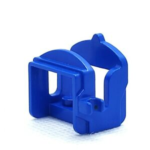 LEGO Horse Saddle with One Clip 4491a Blue Accessory Castle Western