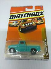 2010 MATCHBOX 1/64 SCALE DIE CAST BODY '57 GMC STEPSIDE PICKUP 38 OF 100