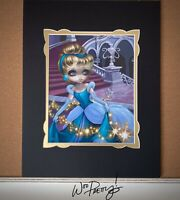 Jasmine Becket Griffith Disney WonderGround Cinderella Leaving Ball Deluxe Print