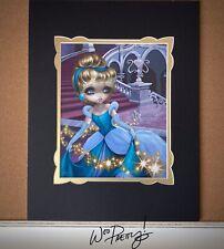 Jasmine Becket Griffith Disney WonderGround Cinderella Leaving Ball Deluxe Print