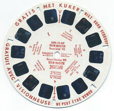DRE-12-NF Disque Selection VIII Belgium-made Demonstration DR ViewMaster Reel
