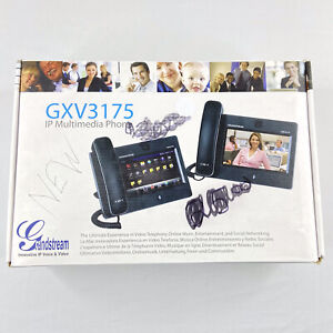 Grandsteam GXV3175 Touchscreen IP Multimedia Voice & Video Business Phone -9