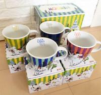 Moomin Mug Tea Cup Limited Edition ONLY KFC Japan Set of 4 VERY RARE