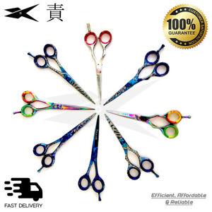 "6"" inch Barber Scissor Professional Japanese 420 Hairdressing Sharp Blade"