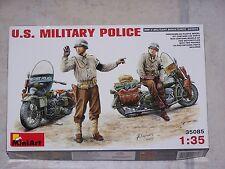 Diorama  MINIART 1/35ème U.S. MILITARY POLICE