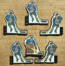 Original Coleco Table Hockey Players 1980's Quebec Nordiques