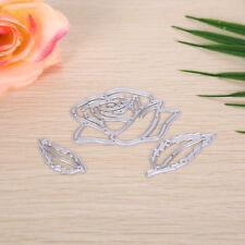 Floral leaf Metal DIY Cut Dies Stencil Scrapbook Album Paper Card Emboss Craf WK