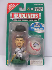 Headliners LARRY WALKER 1999 Limited Edition No. 4078 MLB Mini Ball -New- Rare!