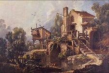 564006 Le Moulin De Charenton Francois Boucher A4 Photo Print