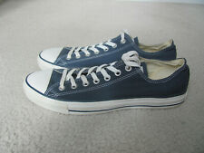 Converse All Star Men's Navy Blue Canvas Basketball Shoes Size 10
