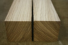 Zebrawood / Zebrano turning blank spindle 240 x 75 x 75mm Grade A