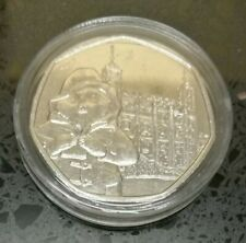 paddington bear at the tower of london 50p circulated good condition
