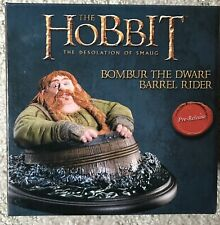 New: Weta The Hobbit: Bombur Barrel Rider Collectable
