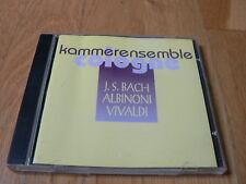Kammerensemble Cologne - Bach, Albinoni, Vivaldi - CD Kutlu
