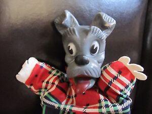 Vintage 1950's Hand Puppet Disney Gund Tramp Dog Rubber  Disneana