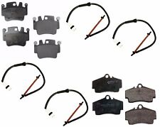 For Porsche 996 Brake Pad KIT Front+Rear MINTEX Pads+Sensors Caliper Linings