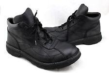 BARNEYS New York Black Leather Skywalk Steam Punk Chukka Ankle Boots Mens 10.5