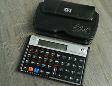 Hp 12c Platinum Financial Calculator 25th Anniversary edition with HP Case Great