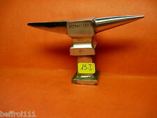 Petite enclume bigorne d'horloger bijoutier outil ancien Uhrmacher N 19 2
