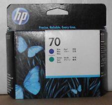 Original HP 70 cabezal de impresión c9408a azul verde para DesignJet z3100 z3200 OVP