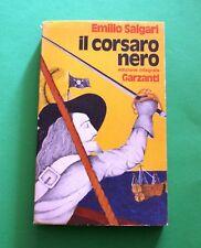 Il corsaro nero - Emilio Salgari - Ed. Garzanti 1976