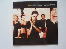 KANE - AS LONG AS YOU WANT THIS  -  CD