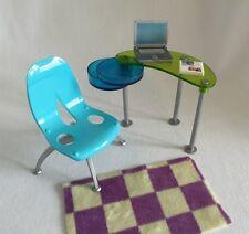 Barbie Fashion Fever Study Furniture 5pc Mattel