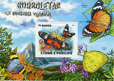 Sao Tome & Principe 2015 MNH Butterflies Tropical Forest 1v S/S Insects Stamps