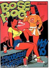 COOP mini Art Devil Girl Poster Boss Hog Cheerleaders Jon Spencer Whiteout
